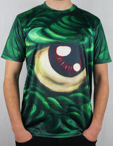 -Third Eye- Green Shirt