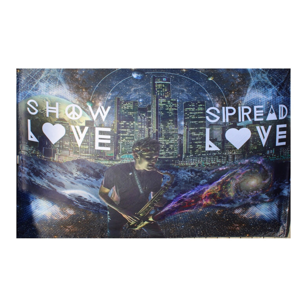 Griz 'Show Love Spread Love' Tapestry