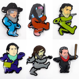 Walking Dead Dancing Bear Hat Pins