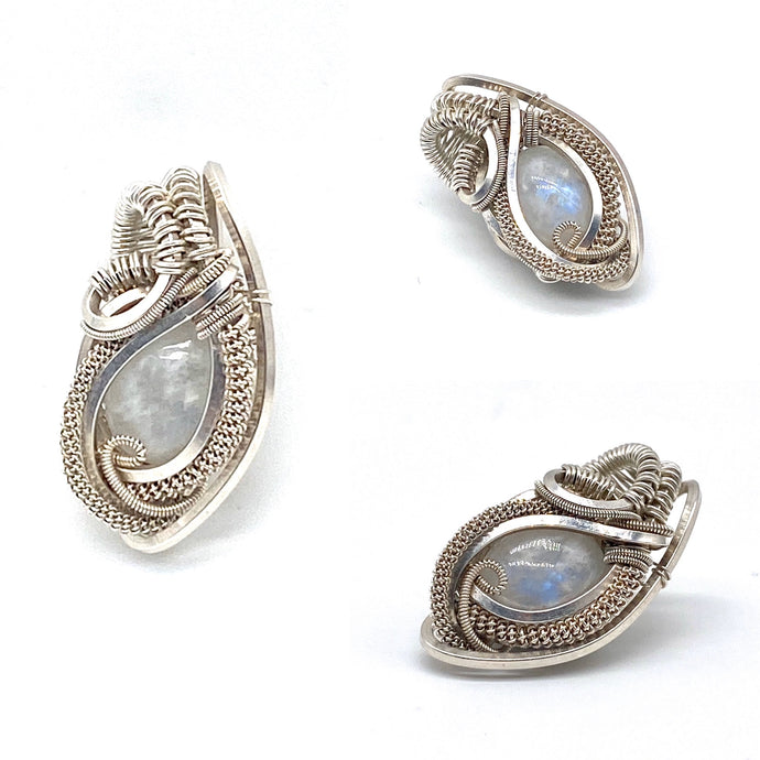 Mini Moonstone Pendant