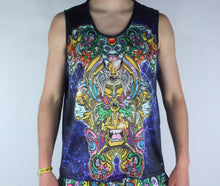 Papa Bear Full Sublimated Dye Tank Top