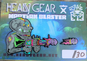 Martian Blaster 2 Part Limited Edition Jake Eye Pin
