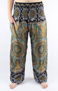 -Gold Kaleidoscope- Unisex Pants