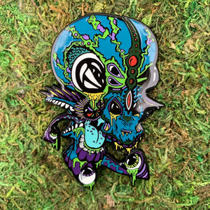 'Masked Invader' Limited Edition Pin