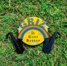 'It Gets Better' Griz Limited Edition Pins