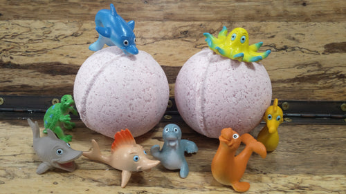 Toy Bath Bombs- Large- Mix & Match 3 for $15
