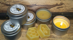 Beeswax Candle- 2 oz- Mix & Match 3 for $15