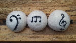 Jumbo Music Wool Dryer Balls