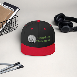 boardom Mountain Snapback Hat