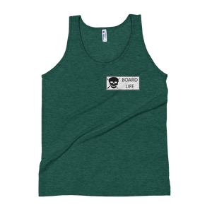 Board Life Marked Unisex Soft Tri-Blend Tank