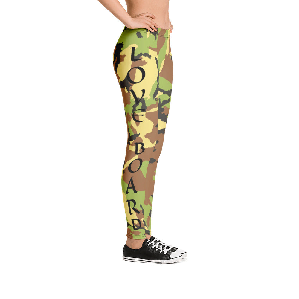 Love Board Love Life Leggings