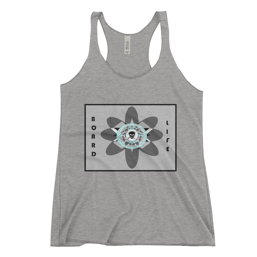 Board is Life Women's Racerback Tank