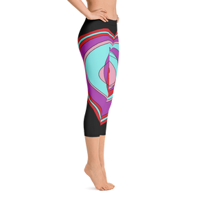 Love Board Life Capri Leggings