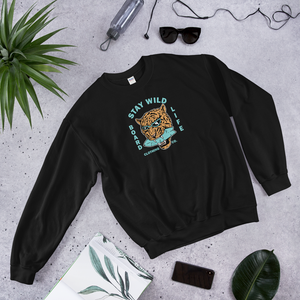 Board Life Stay Wild Unisex Sweatshirt