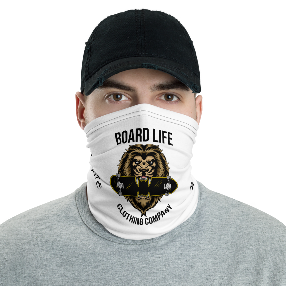 Board Life King of the Concrete Jungle Neck Gaiter