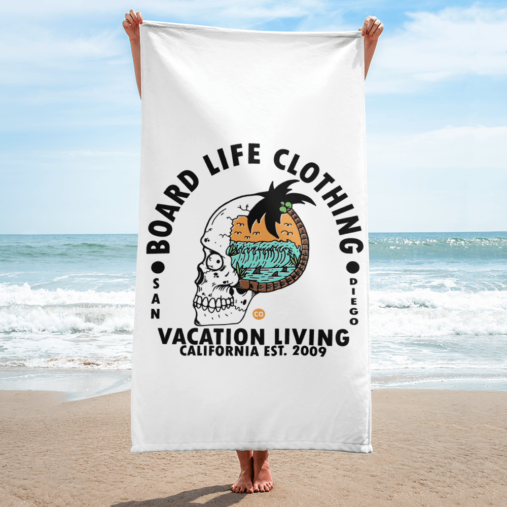 Board Life Vacation Living Towel