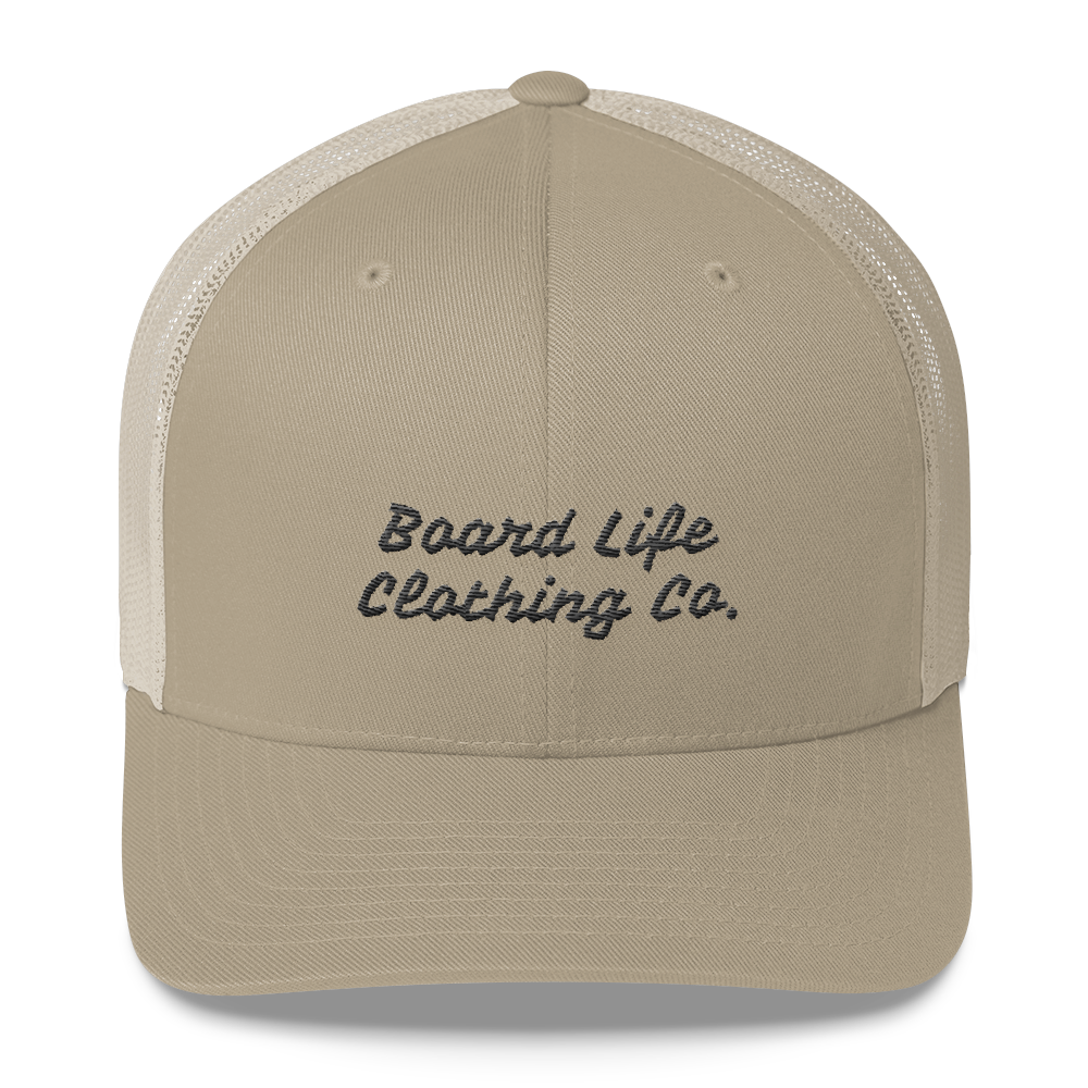 Board Life Clothing Co. Trucker Cap