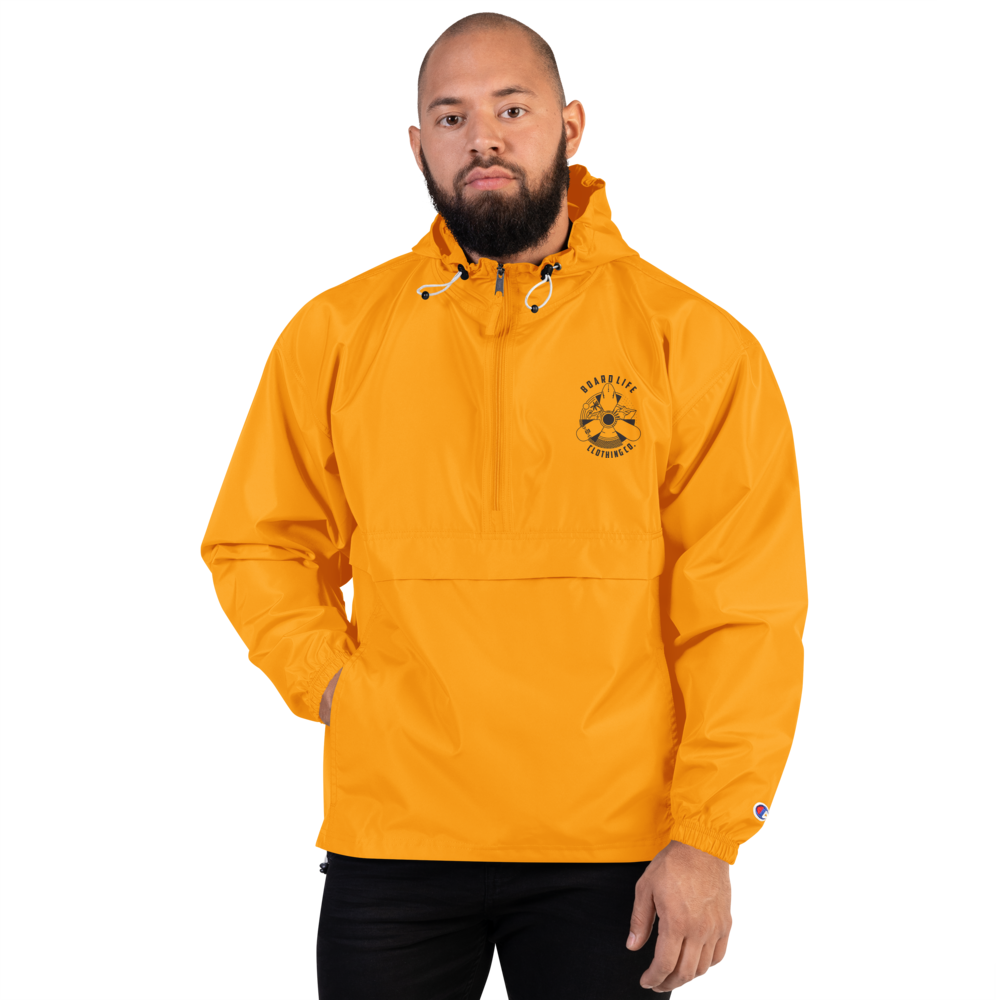 Board Life Nuking Embroidered Champion Packable Jacket