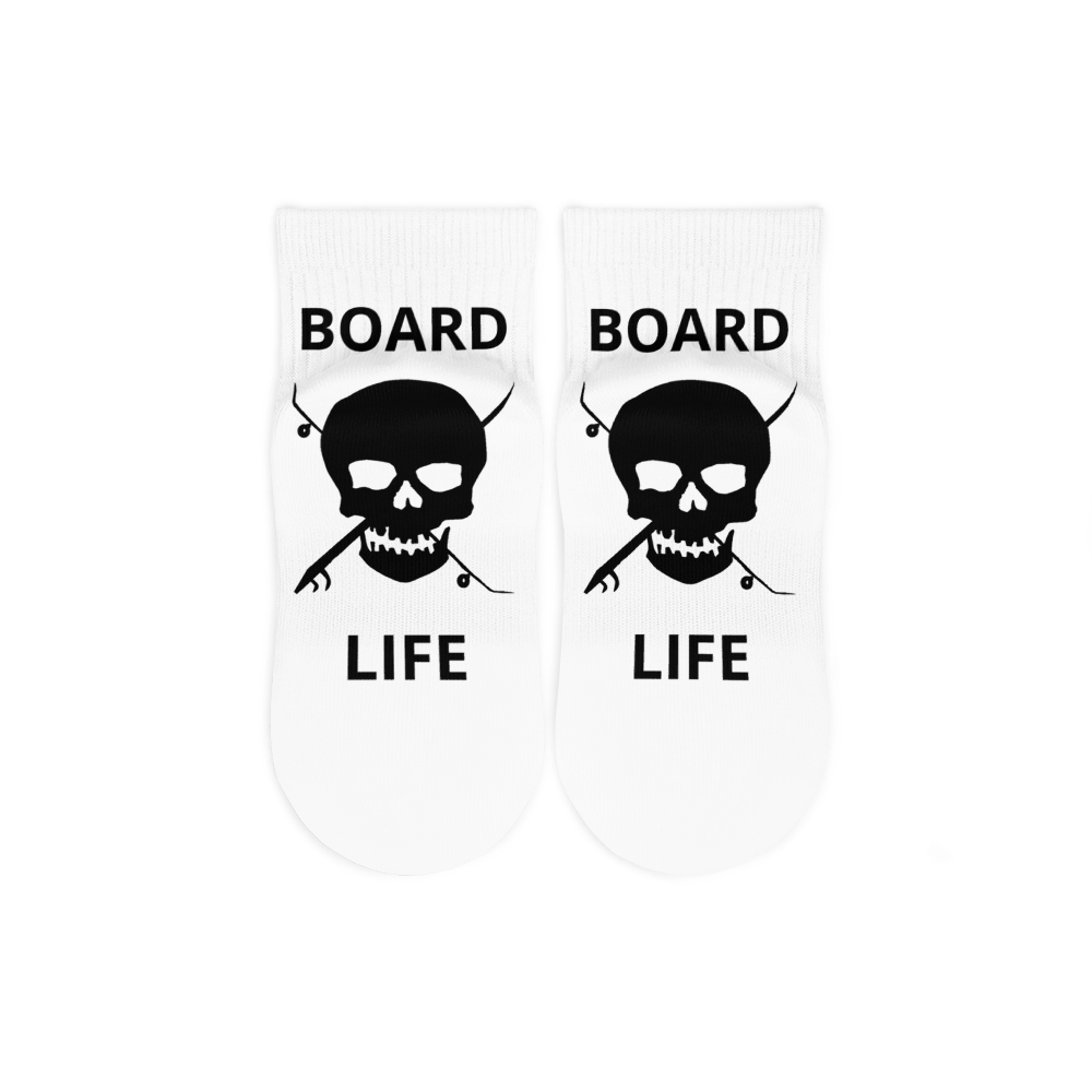 Board Life Ankle Socks