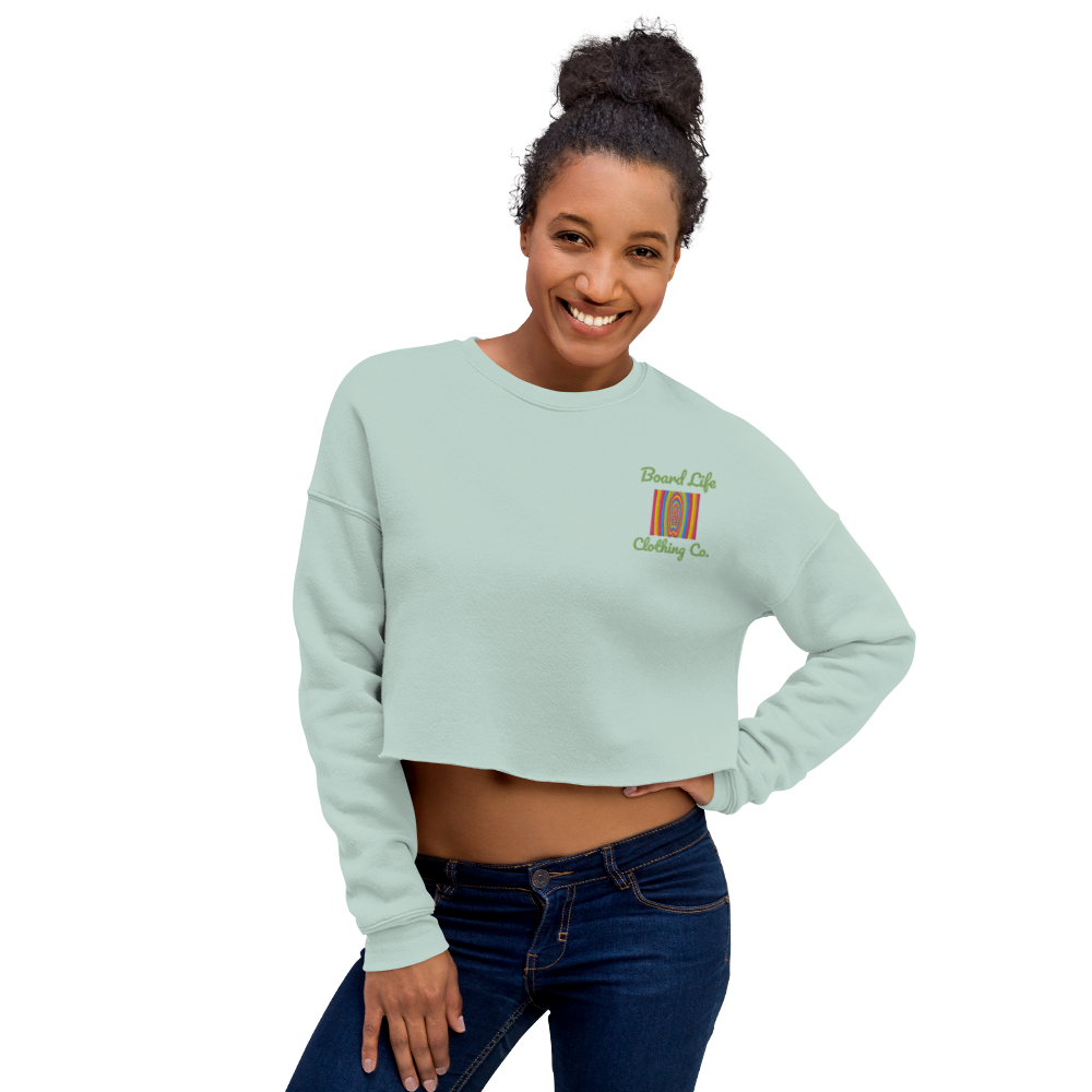 Board Life Layerz Crop Sweatshirt