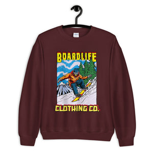 Board Life Snow Shred Unisex Sweatshirt