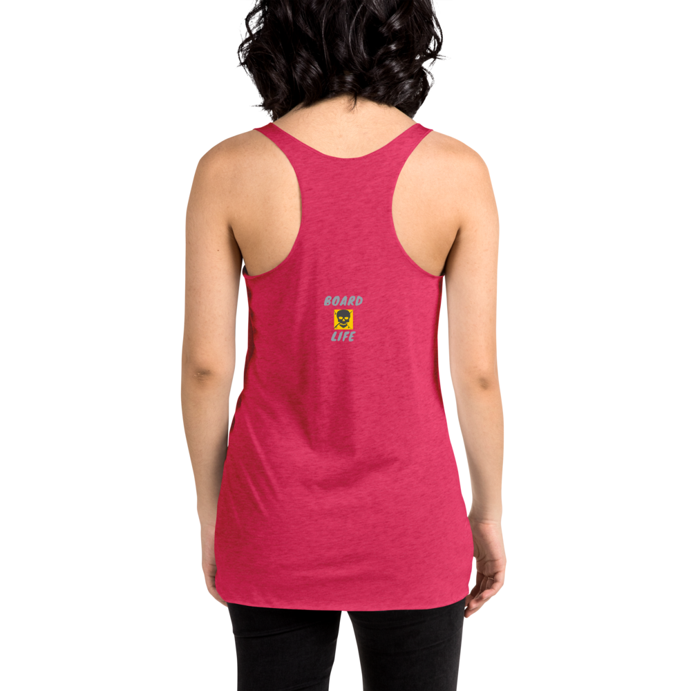 Board Life More Riding Women's Racerback Tank