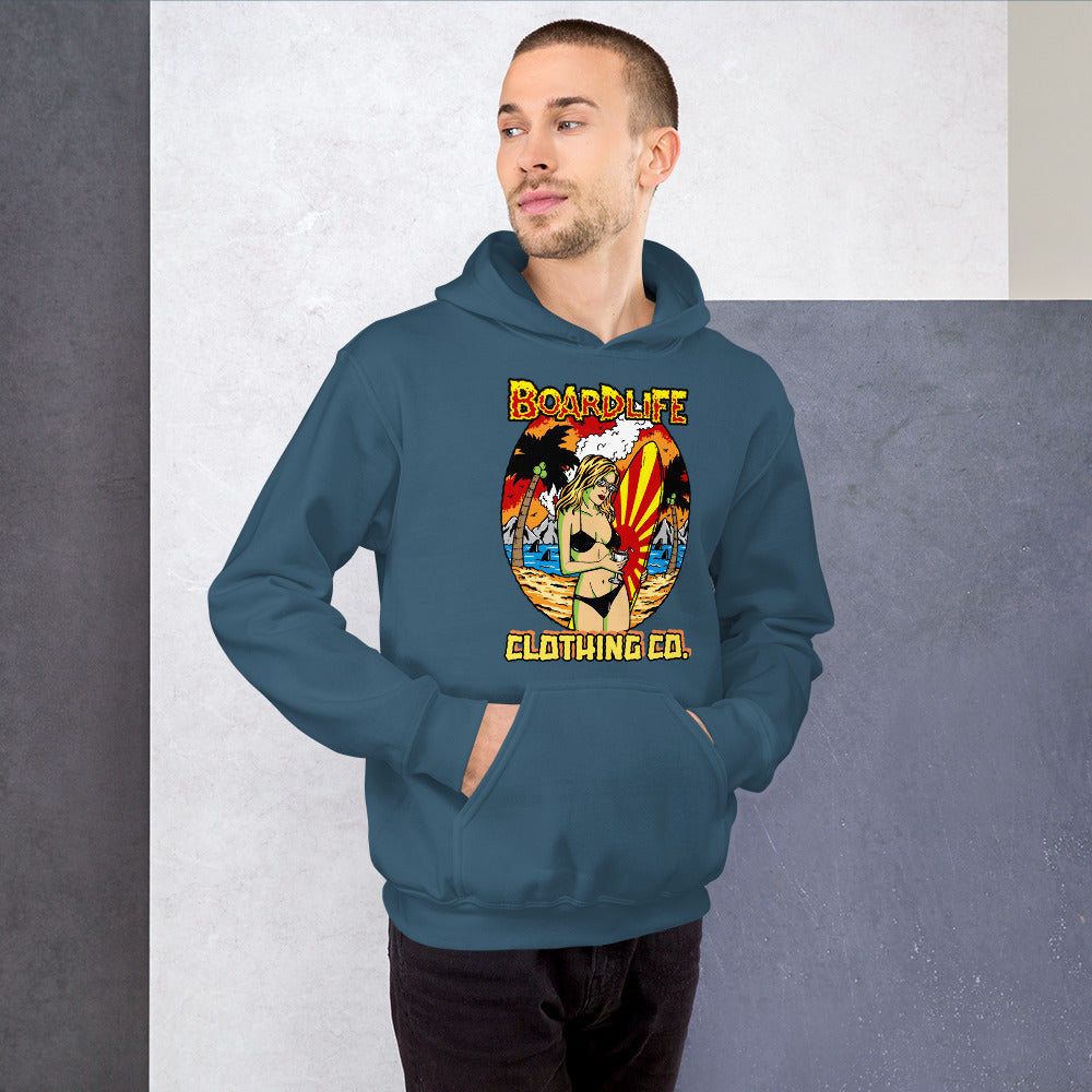 Board Life Island Fever Unisex Hoodie