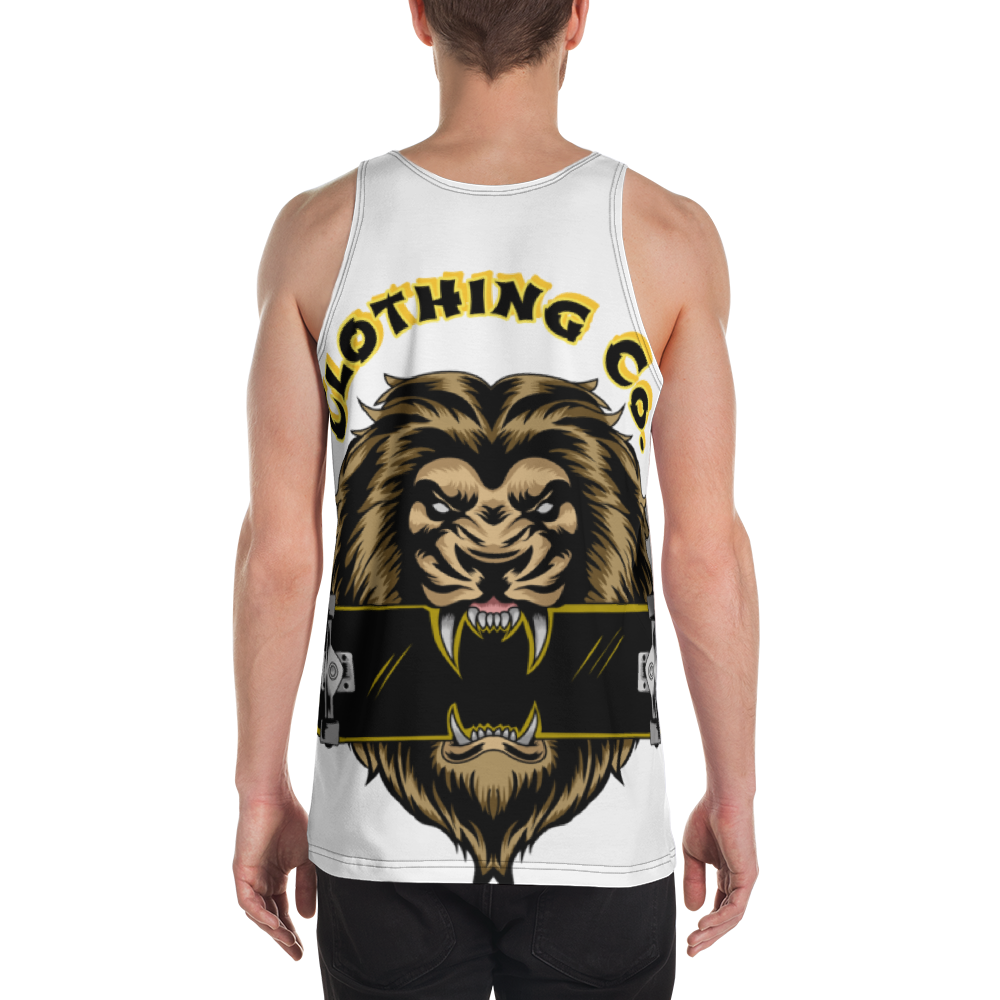 Board Life King of the Concrete Jungle Unisex Tank Top