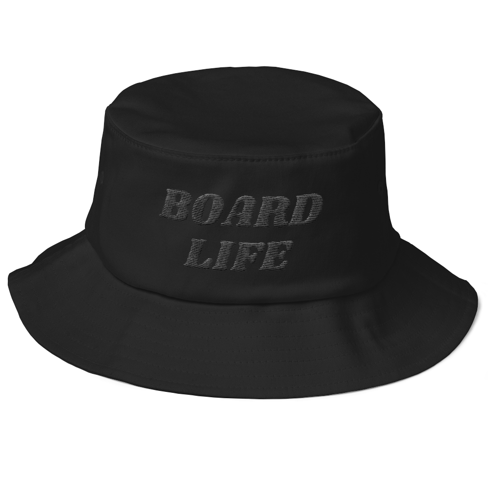 Board Life bucket hat