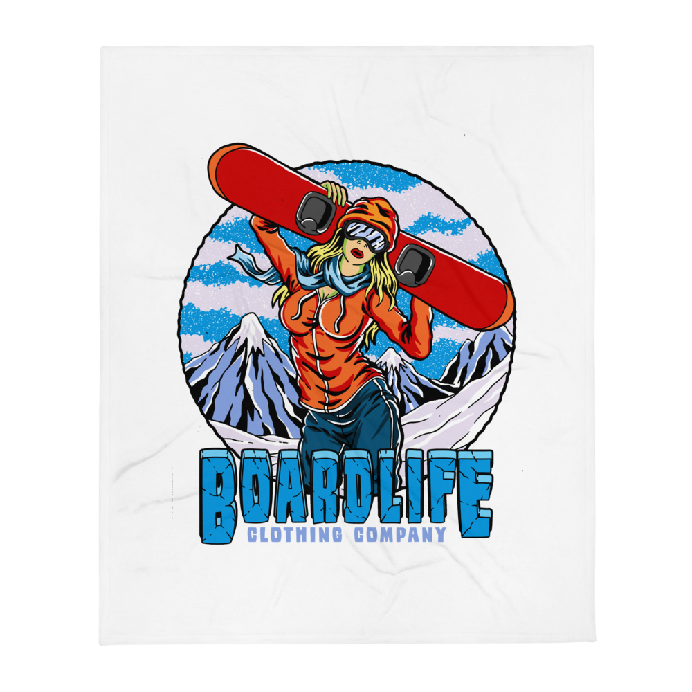 Board Life Chill Out Throw blanket - 50×60