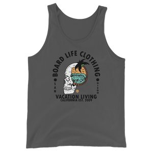Board Life Vacation Living Unisex Tank Top