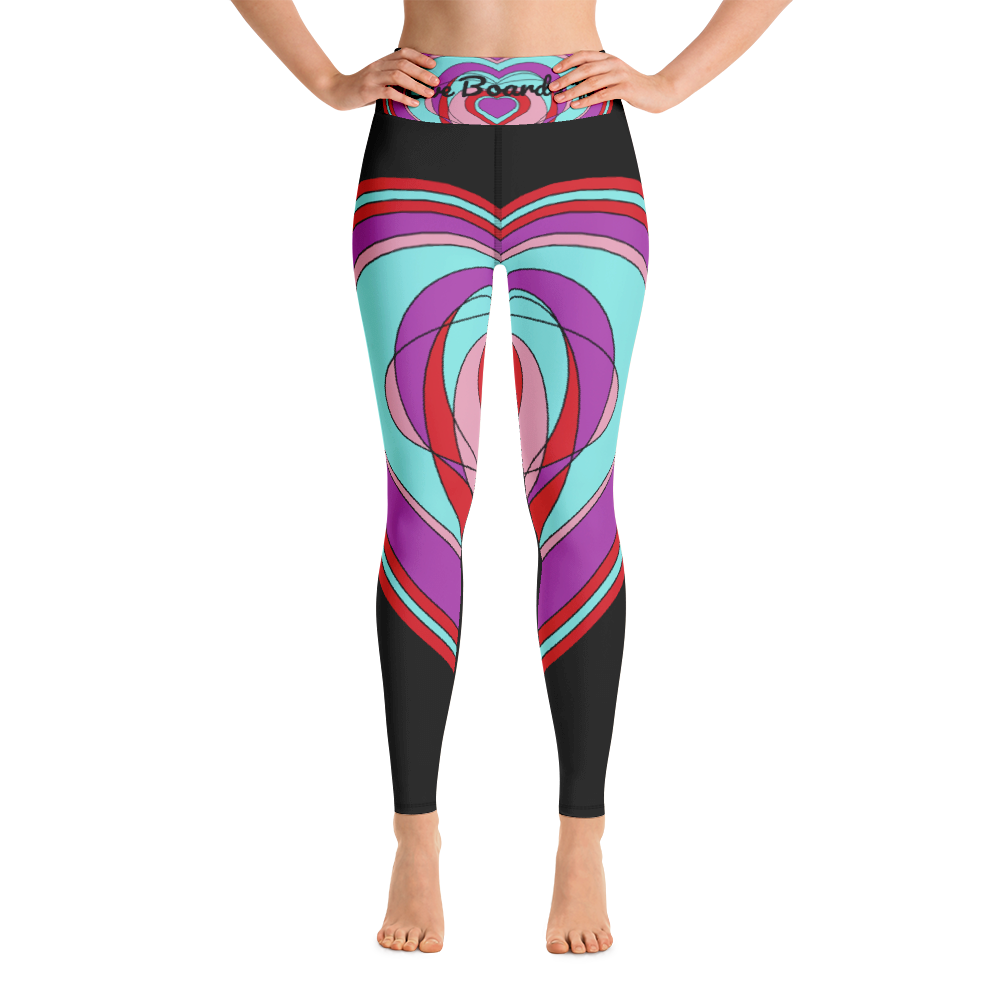 Love Board Life Yoga Leggings