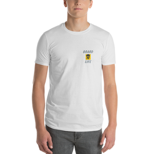 Board Life gold Lightweight Fashion Short Sleeve T-Shirt