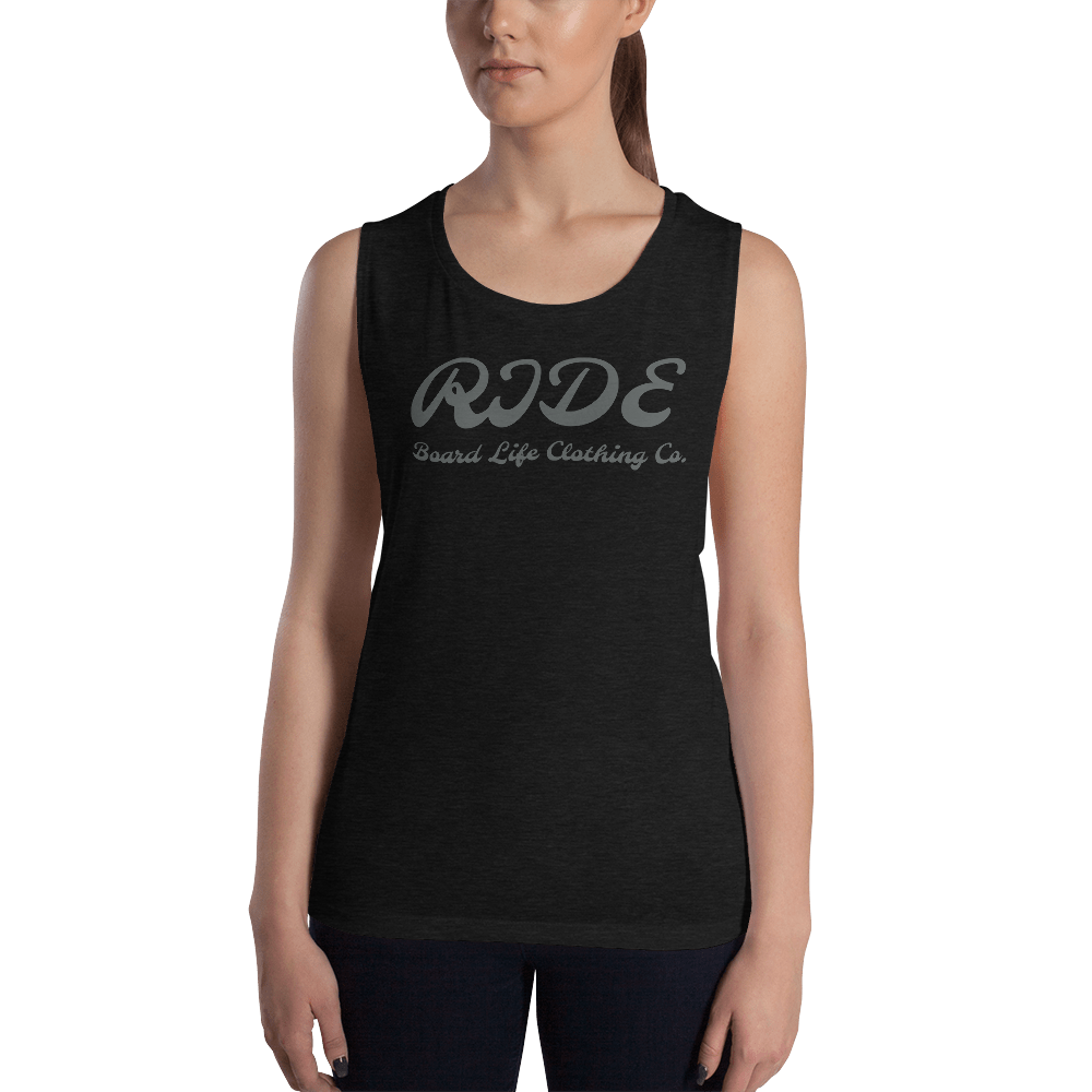 Ladies' RIDE Board Life Muscle Tank