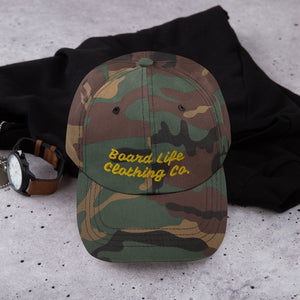 Board Life Clothing Co. Script Dad hat