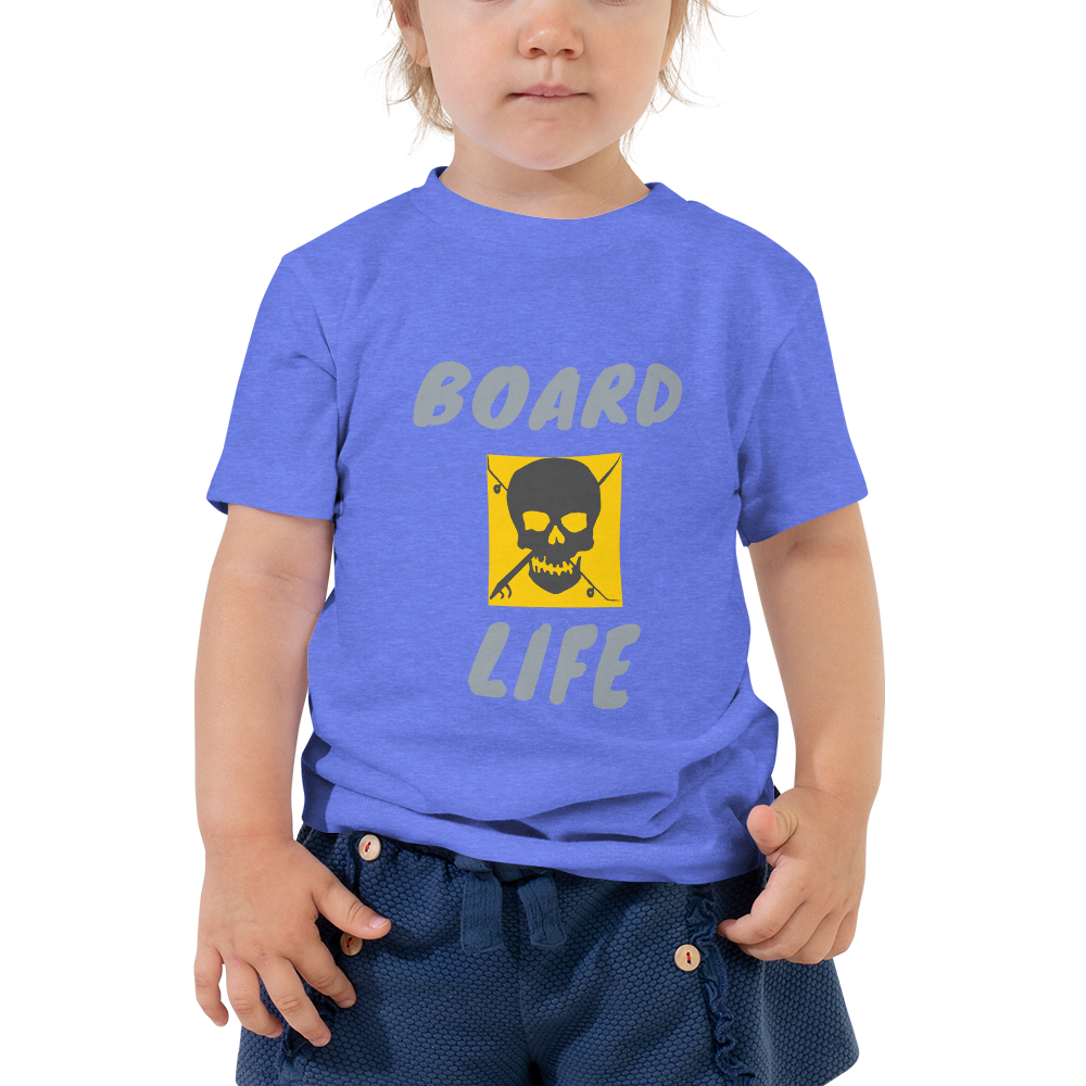 Board Life Golden Toddler Short Sleeve Tee