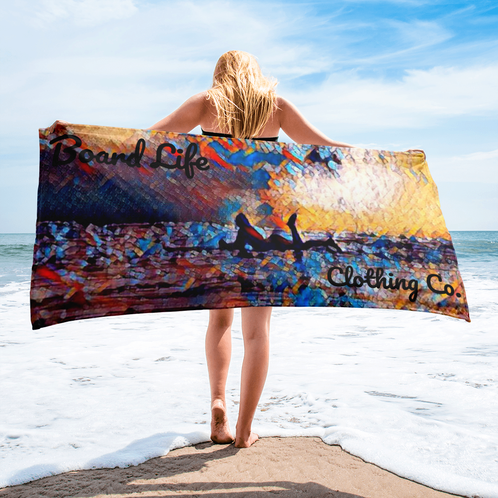 Board Life is Art Towel