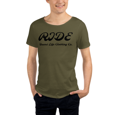 Men's RIDE Board Life Raw Neck Tee
