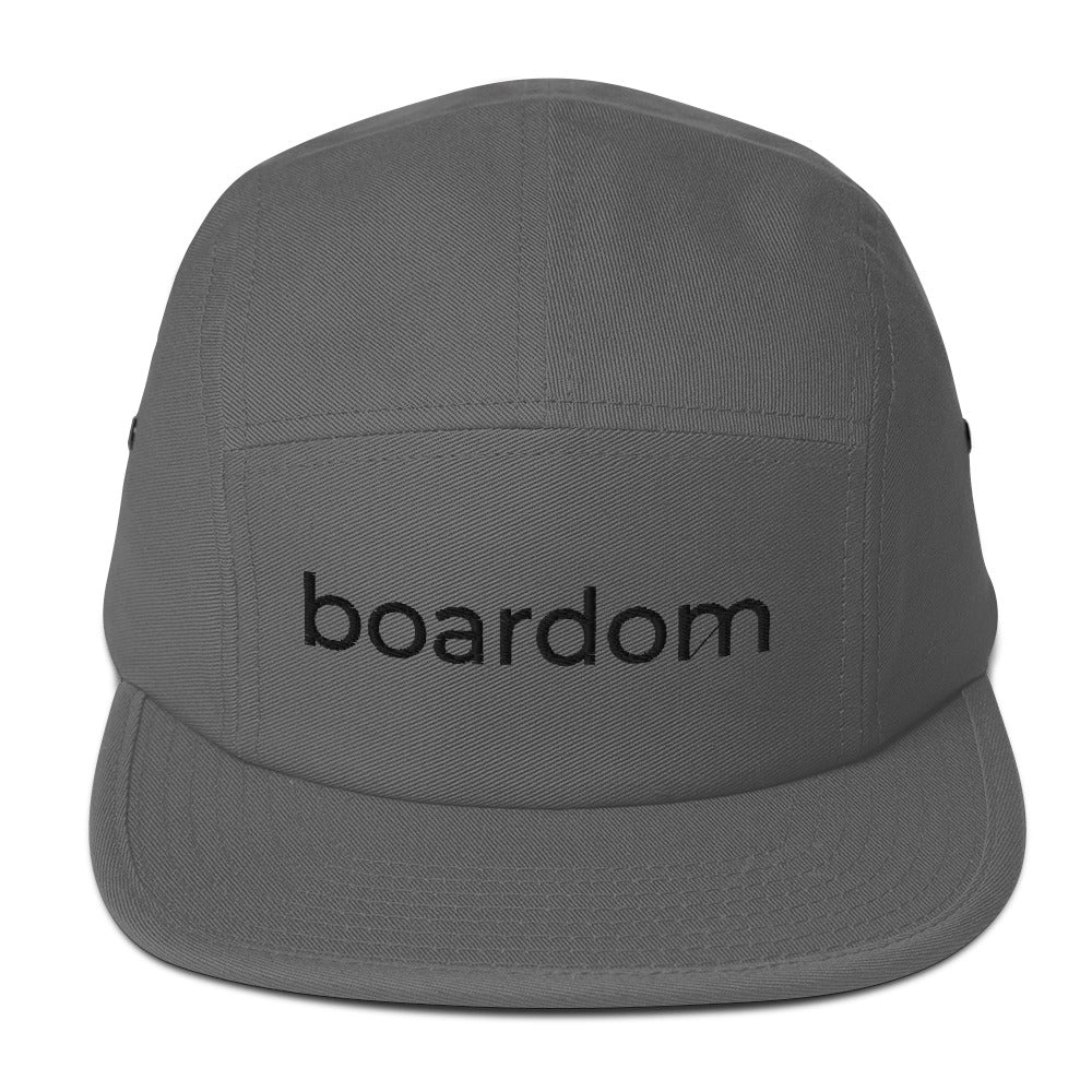 boardom Five Panel Cap