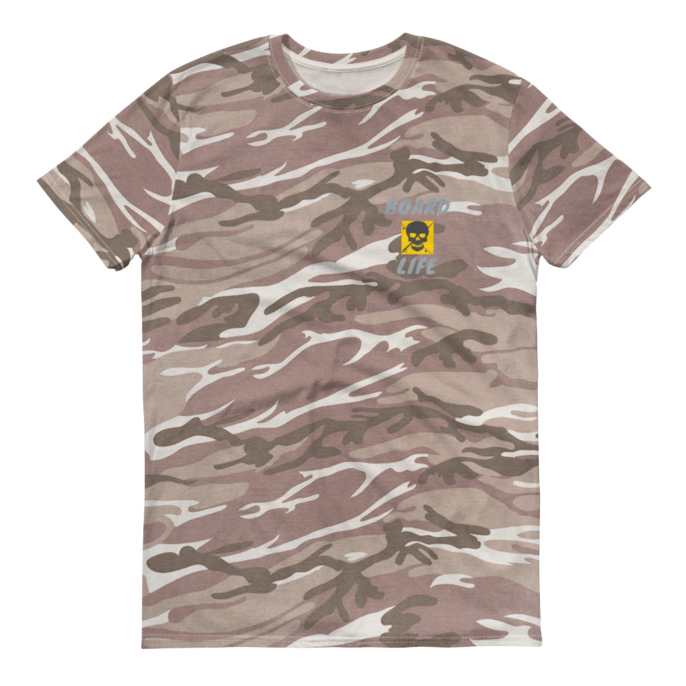 Board Life gold Camouflage T-Shirt