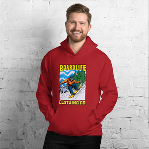 Board Life Snow Shred Unisex Hoodie