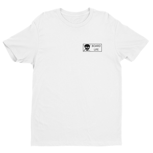 Board Life Premium Fitted Short Sleeve Crew