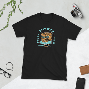Board Life Stay Wild Short-Sleeve Unisex T-Shirt