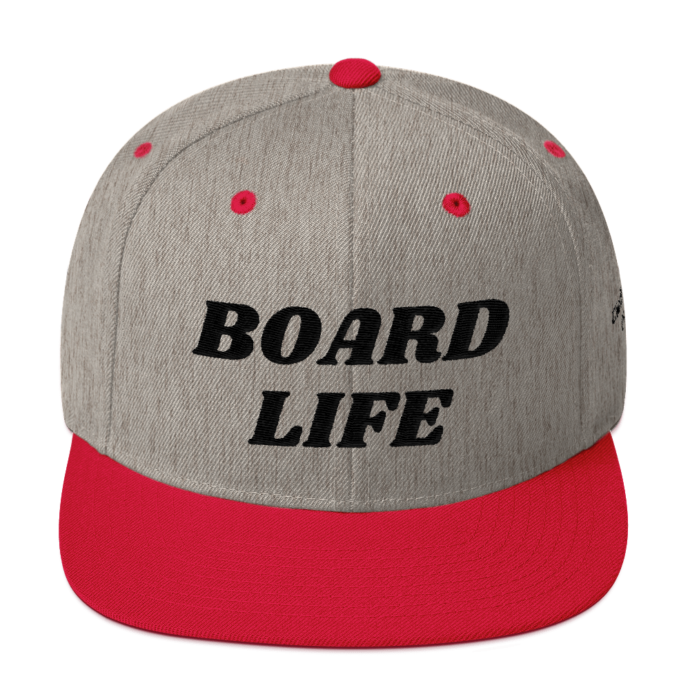 Board Life Clothing Co. Yupoong Snapback