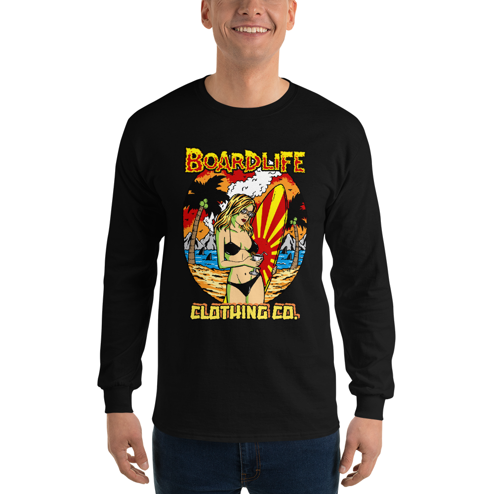 Board Life Island Fever Unisex Long Sleeve T-Shirt