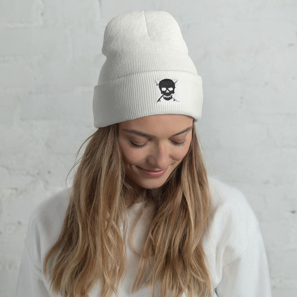 Board Life Marked cuffed beanie