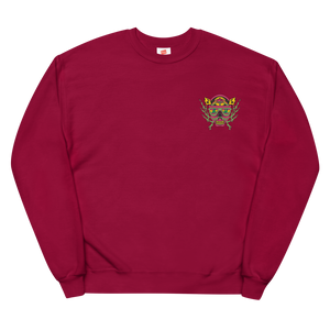 BU On The Mind Embroidered Unisex fleece sweatshirt