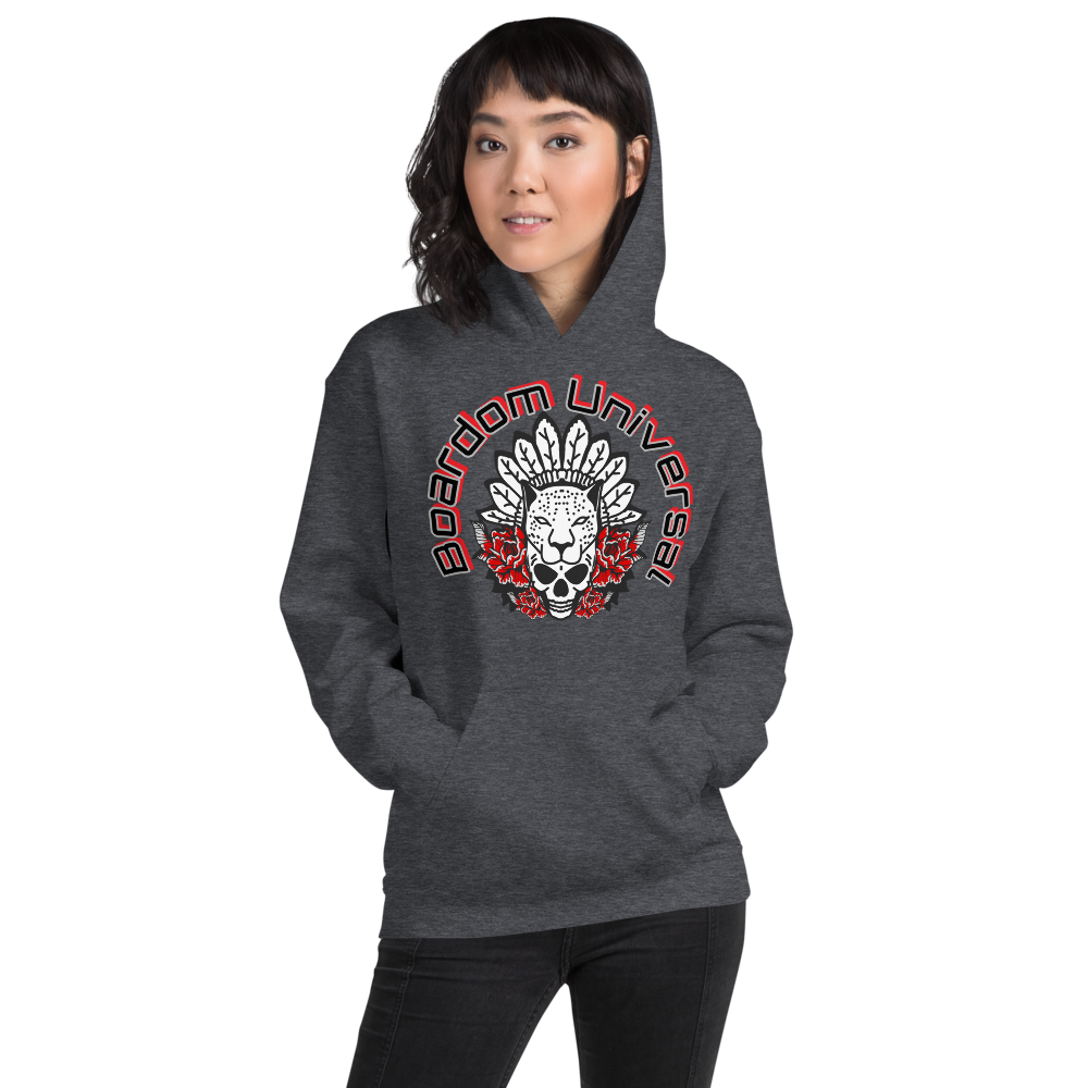 Boardom Spirit Animal Unisex Hoodie
