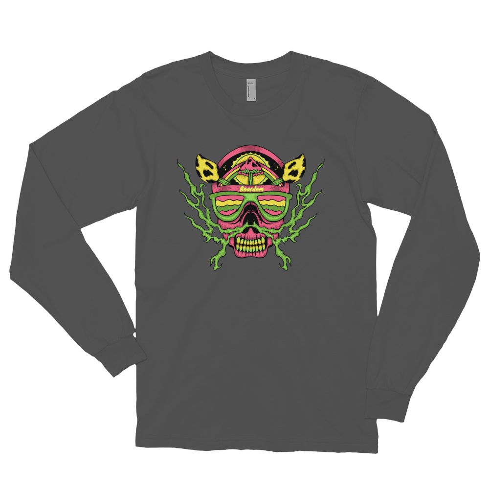 Boardom On The Mind Long sleeve t-shirt