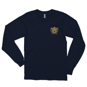 BU On The Mind Embroidered Long sleeve t-shirt